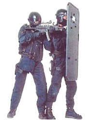 Ballistic Shield used for house penetration, hostage situations, EOD Operations
